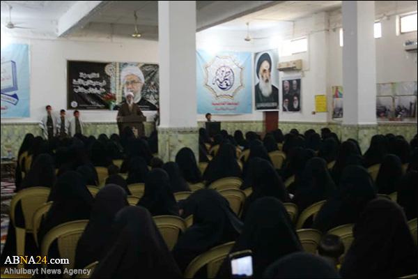 """Photos: Secretary-General of ABWA visited """"Jameah al-Fatemiah"""""""