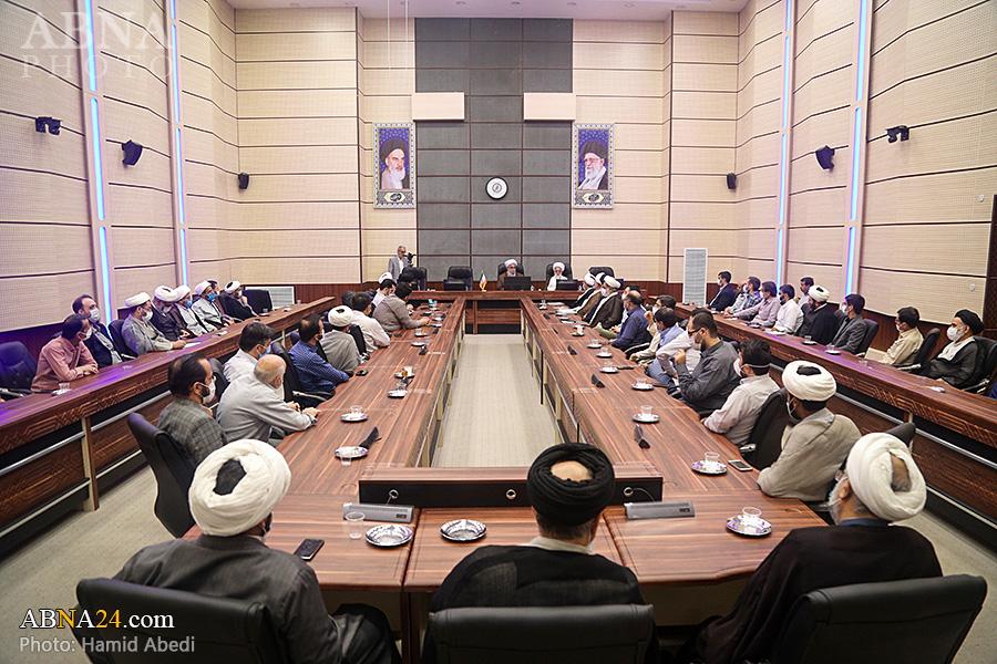 گزارش تصویری/ دیدار آیتالله رمضانی با کارکنان مجمع جهانی اهلبیت(ع) در قم