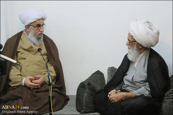 Photos: Secretary-General ABWA met Grand Ayatollah Sheikh Bashir Najafi