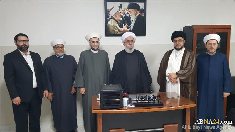 Фоторепортаж / Встреча аятоллы Рамезани с генеральным секретарем движения «Национальное движение»