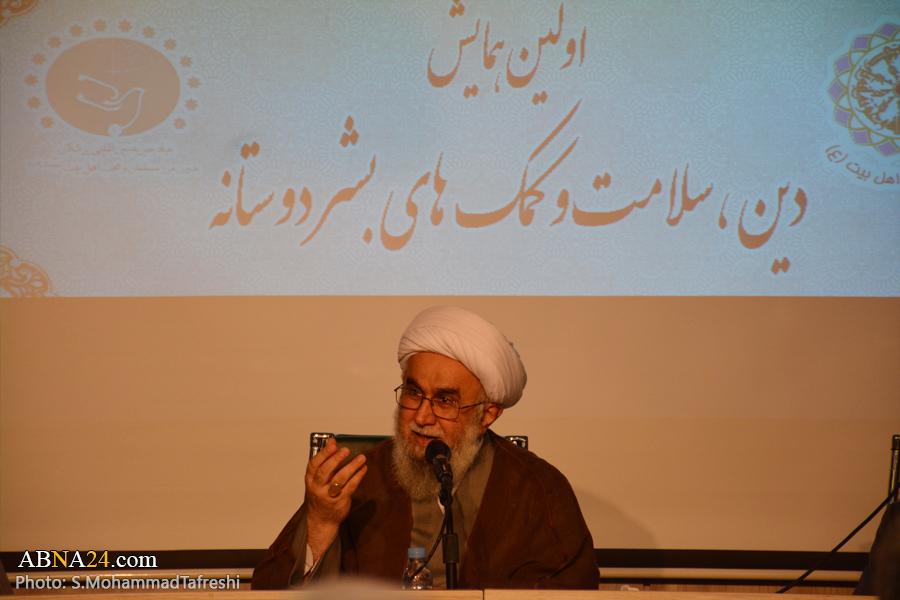 آیت الله رمضانی: امروزه نیازمند موسسات دین و سلامت هستیم/ دین ضامن سلامت بشر است