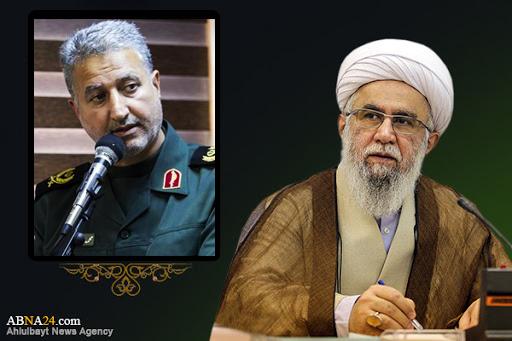 "ABWA's Secretary-General expressed his condolences on martyrdom of General ""Mohammad Ali Haghbin"""