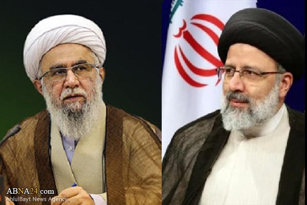Ayatollah Ramazani congratulated President-elect of Iran
