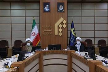 Встреча директора и официальных лиц Международного университета Ахль аль-Байт (мир им) с диоектором Университета Аль-Мустафа