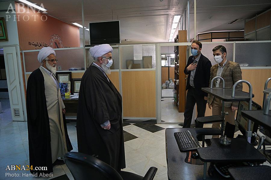 Photos: Ayatollah Ramazani visits different parts of AhlulBayt World Assembly in Qom