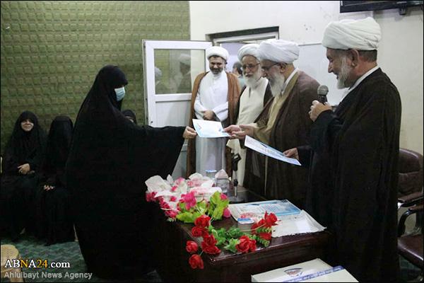 Photos: Closing ceremony of virtual courses for Iraqi women preachers, in presence of Ayatollah Ramazani